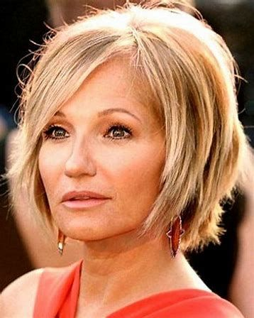 image result for short hairstyles for women over 40 oval