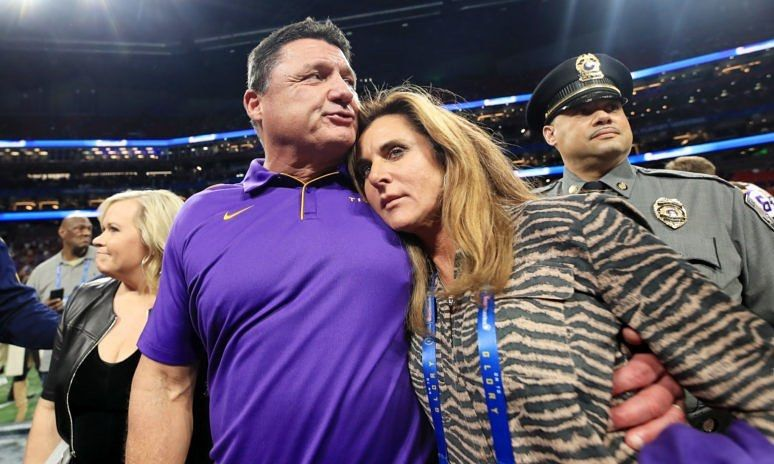 Lsu On Instagram Update Coach O Has Filed For A Divorce From His Wife Kelly We Wish The Orgeron Family Nothing But The Best In 2020 Mens Tops Mens Polo Shirts Lsu