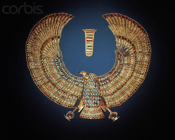 Vulture Collar From Tomb Of Tutankhamun Egypt Museum