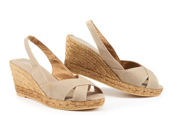 d0c8c0c7aba Calella women s espadrille wedges are one of our most stylish handmade espadrille  wedges — perked up with a flattering 2.5-inch heel