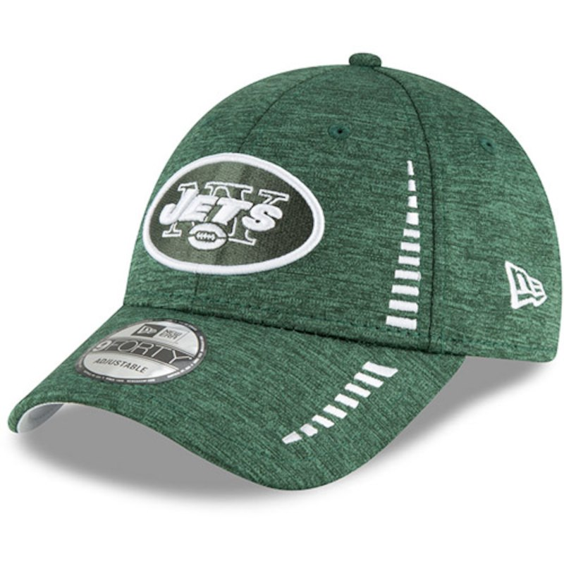 ce00126040b8ca New York Jets New Era Speed Shadow Tech 9FORTY Adjustable Hat - Green