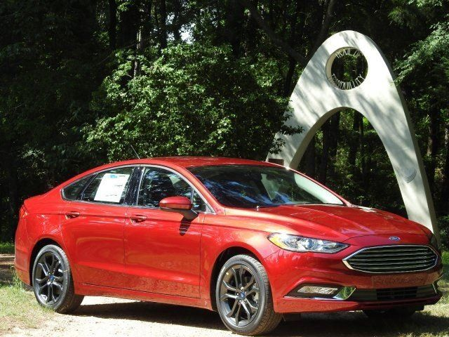 This 2018 Ford Fusion Is Decked Out With The Technology Package 1 5l Ecoboost Engine And Sport Earance Ruby Red Beauty Gets An Impressive