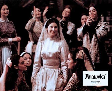 Here S A Rare Publicity Photo Of Tzeitel S Wedding Dress
