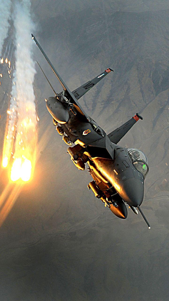 download this wallpaper 720x1280 - military/mcdonnell douglas f-15e