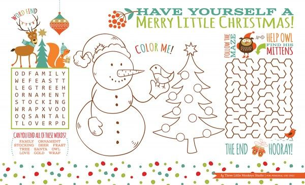 Christmas Activity Placemat Design Dazzle Christmas Coloring Books Christmas Tree Coloring Page Tree Coloring Page