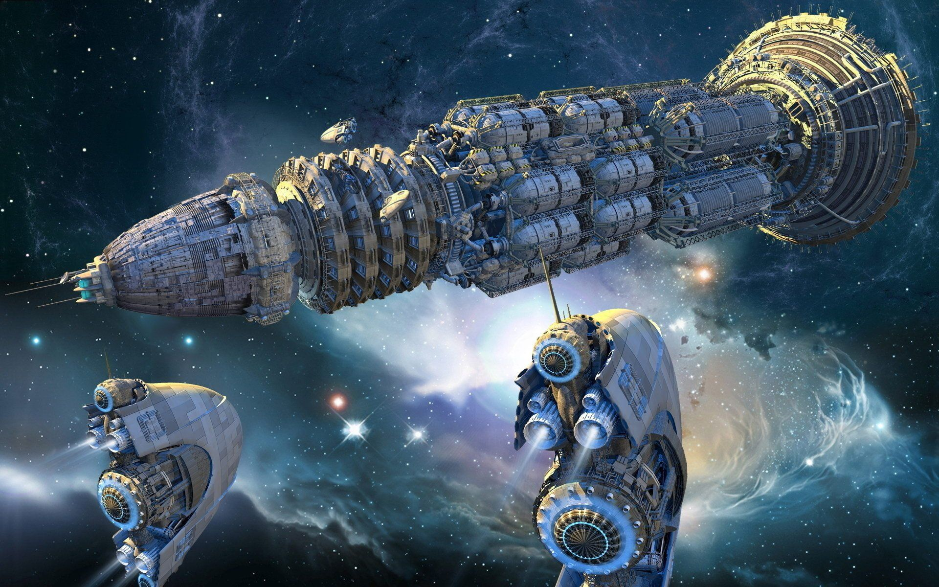 1032 Nave Espacial Fondos De Pantalla HD
