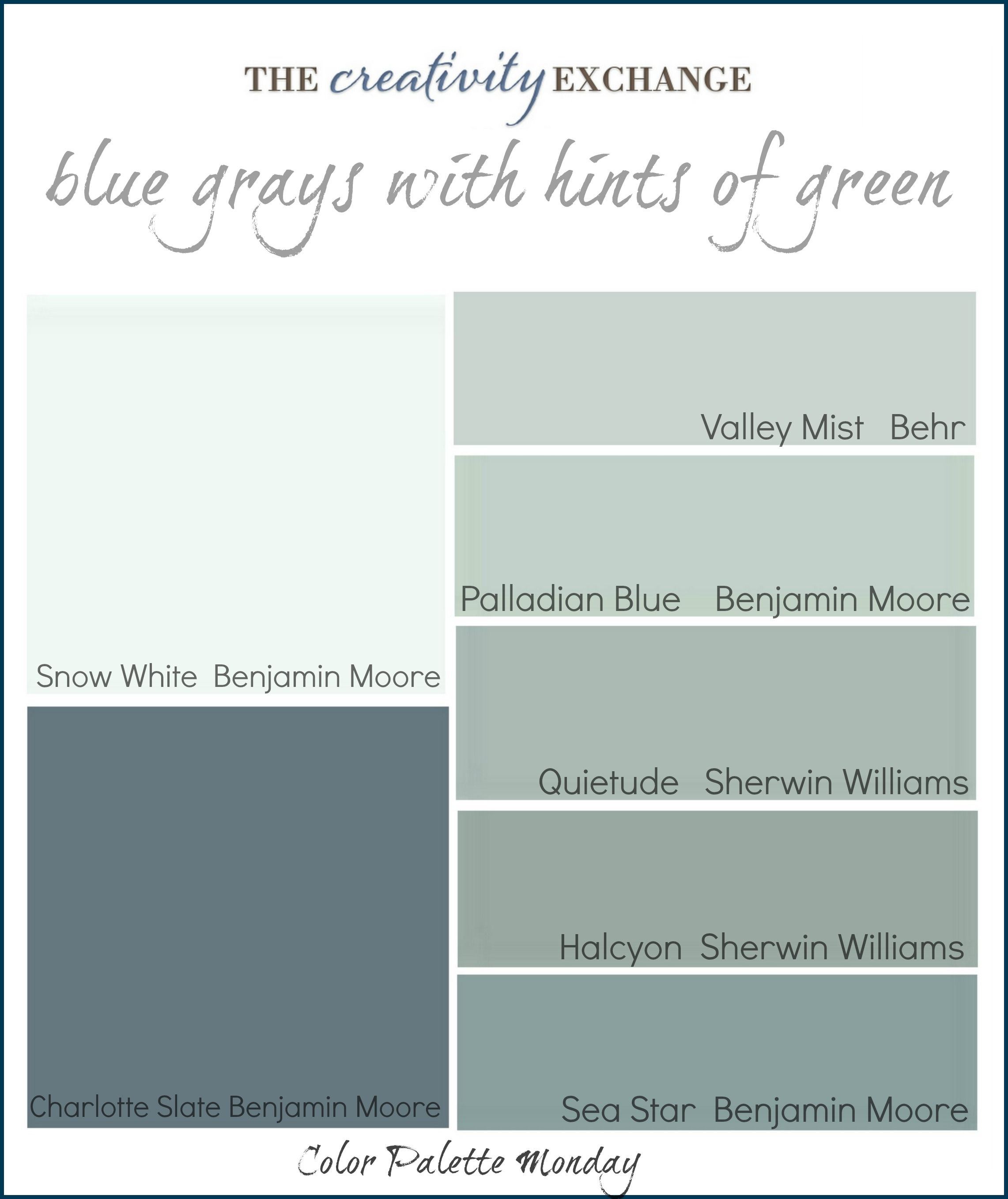 Most Popular Sherwin Williams Blue Gray Paint Colors