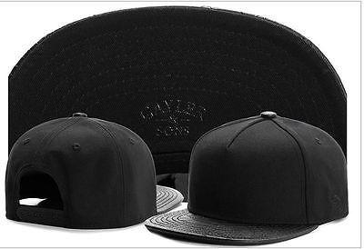 Cool Fashion trend Men's Snapback adjustable Baseball Cap Hip Hop hat -Black | eBay