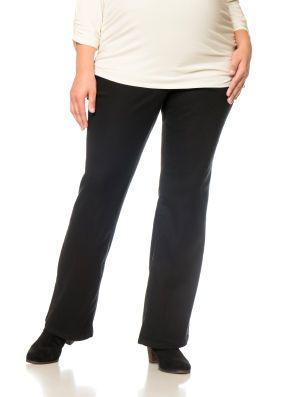 a40981ddf86a1 Motherhood Maternity Plus Size Petite Secret Fit Belly Twill 5 Pocket Boot  Cut Maternity Pants