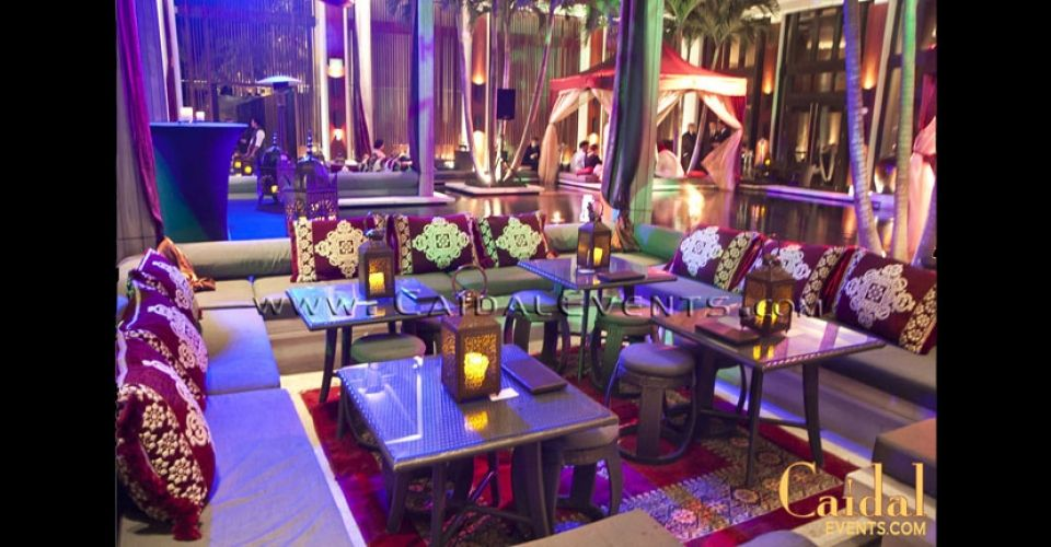 Moroccan Theme New Year's Eve Party at Setai miami (With