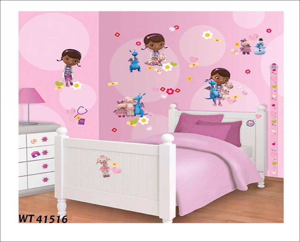 fotobehang of wandstickers doc mcstuffins decoratie box