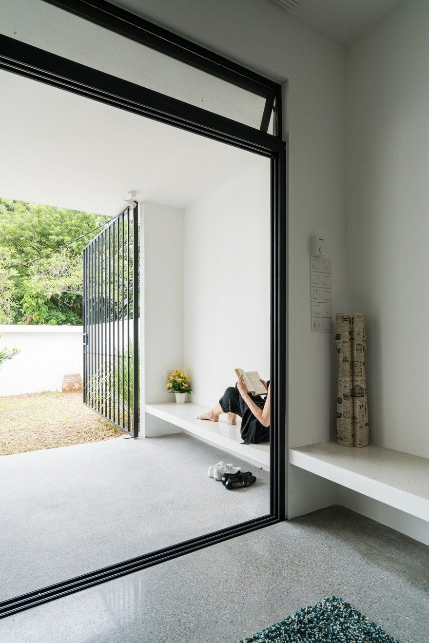 A Cool Minimalist Single Storey Terrace House That Will Blow Your