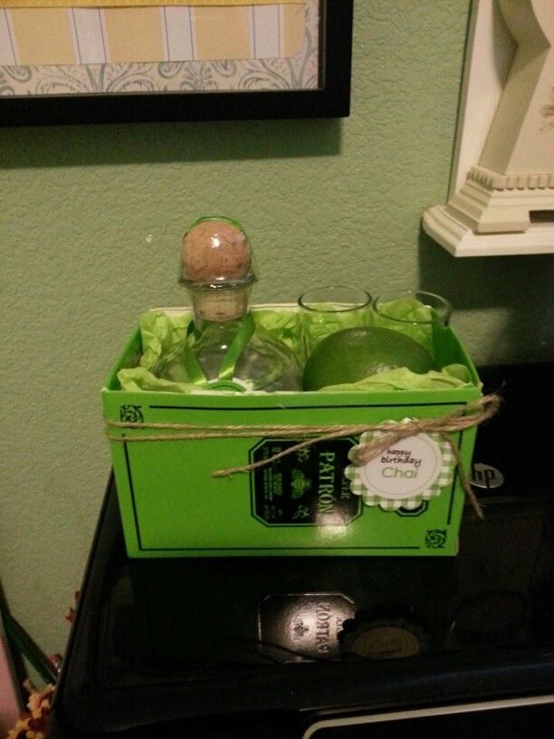 Patron tequila gift set