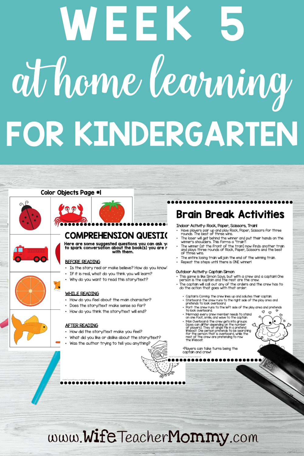 Kindergarten Distance Learning Packet At Home Learning Activities Week 5 Kindergarten Math Lesson Plans Math Lesson Plans Distance Learning [ 1500 x 1000 Pixel ]