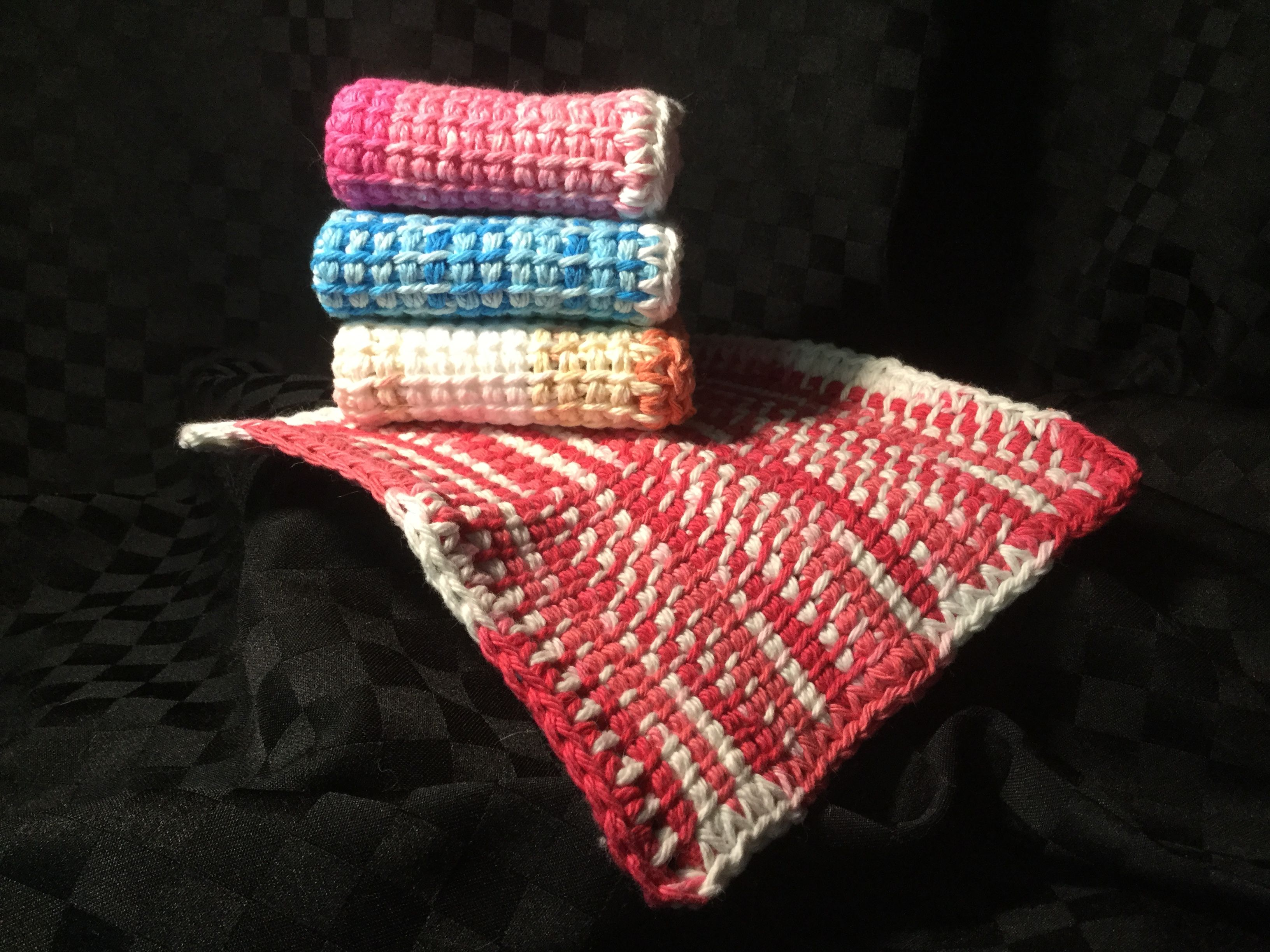 Tunisian Crochet Dishcloths | Stuff I Make | Pinterest