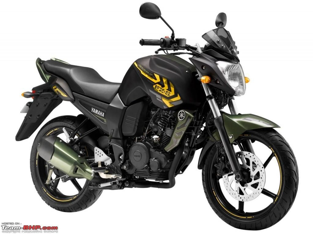 Yamaha Launches Special Edition Fz S And Fazer Motorcycles Team
