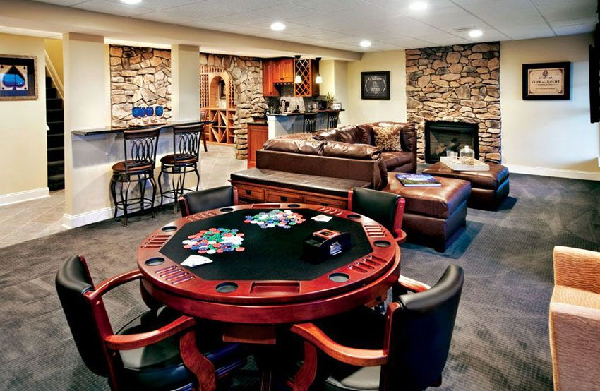 47 Cool Finished Basement Ideas (Design Pictures) (With images