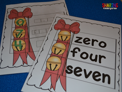 Two versions of this number word activity