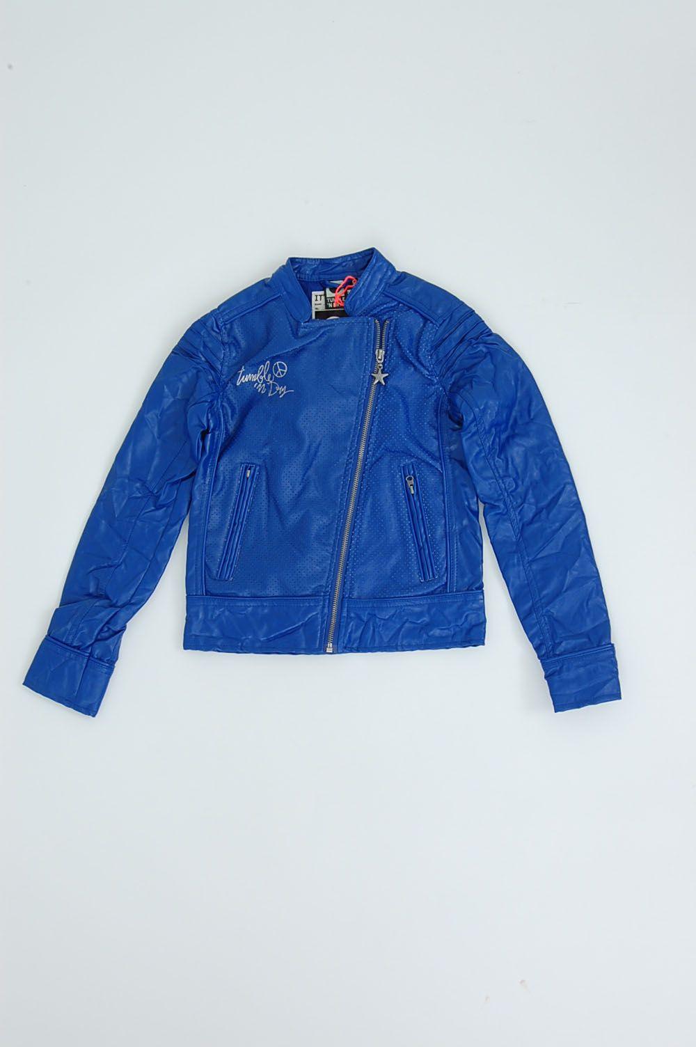 biker jacket girls l Tumble 'n Dry