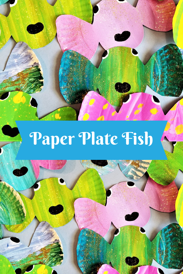 Make Some Paper Plate Fish Check Out Those Fins