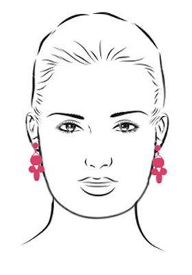 фото квадратная форма лица