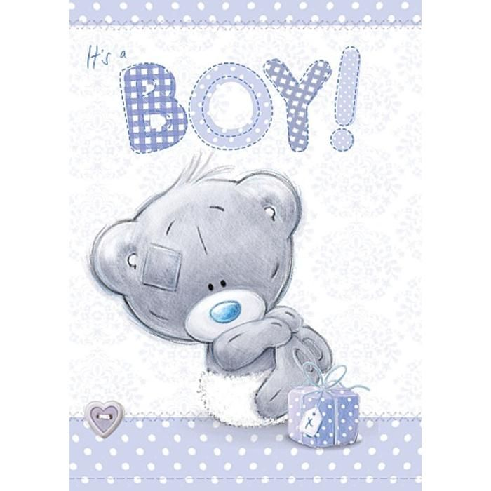 It's a Boy New Baby Me to You Bear Card  £1.79