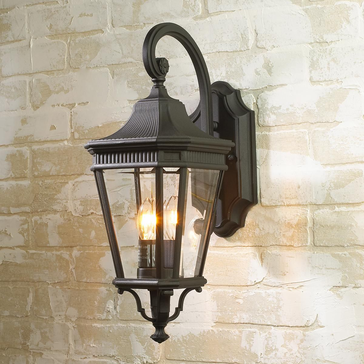 Fluted Trim Outdoor Light Medium Outdoor Wall Lantern Outdoor Lighting Outdoor Light Fixtures