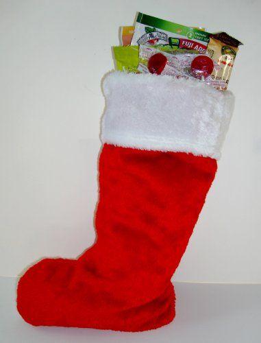 Stuffed Christmas Holiday Stocking Gourmet Gift « Blast Gifts