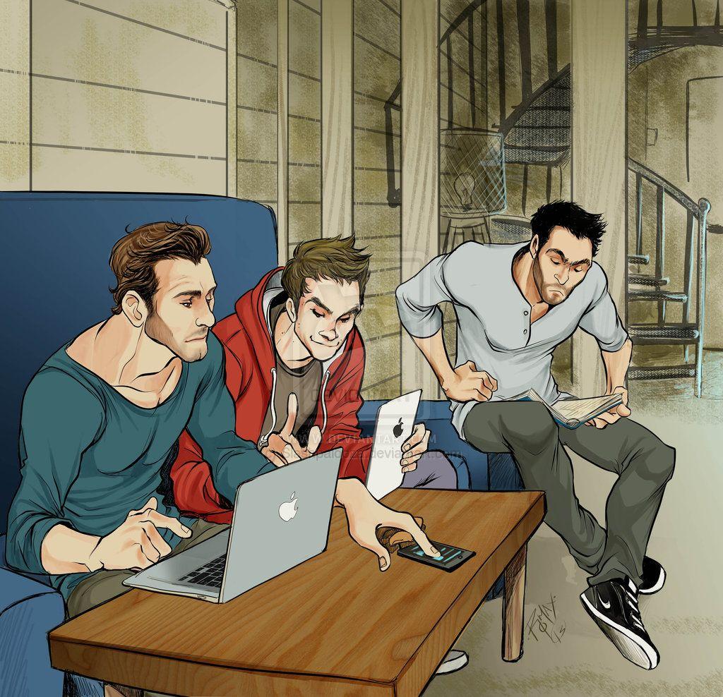 Teen Wolf - Derek Hale x Stiles Stilinski + Peter Hale | Derek