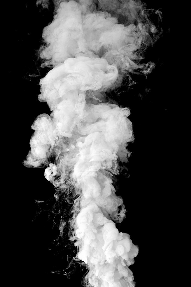 Download Premium Illustration Of White Smoke Effect Design Element On A Black Background Images Blurred Background Photography Smoke Wallpaper