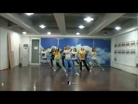 HD] Genie (Mirrored Dance Practice) - SNSD [소녀시대