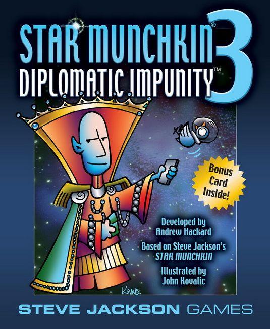 Star Munchkin® 3 – Diplomatic Impunity™   Munchkin in the house ...