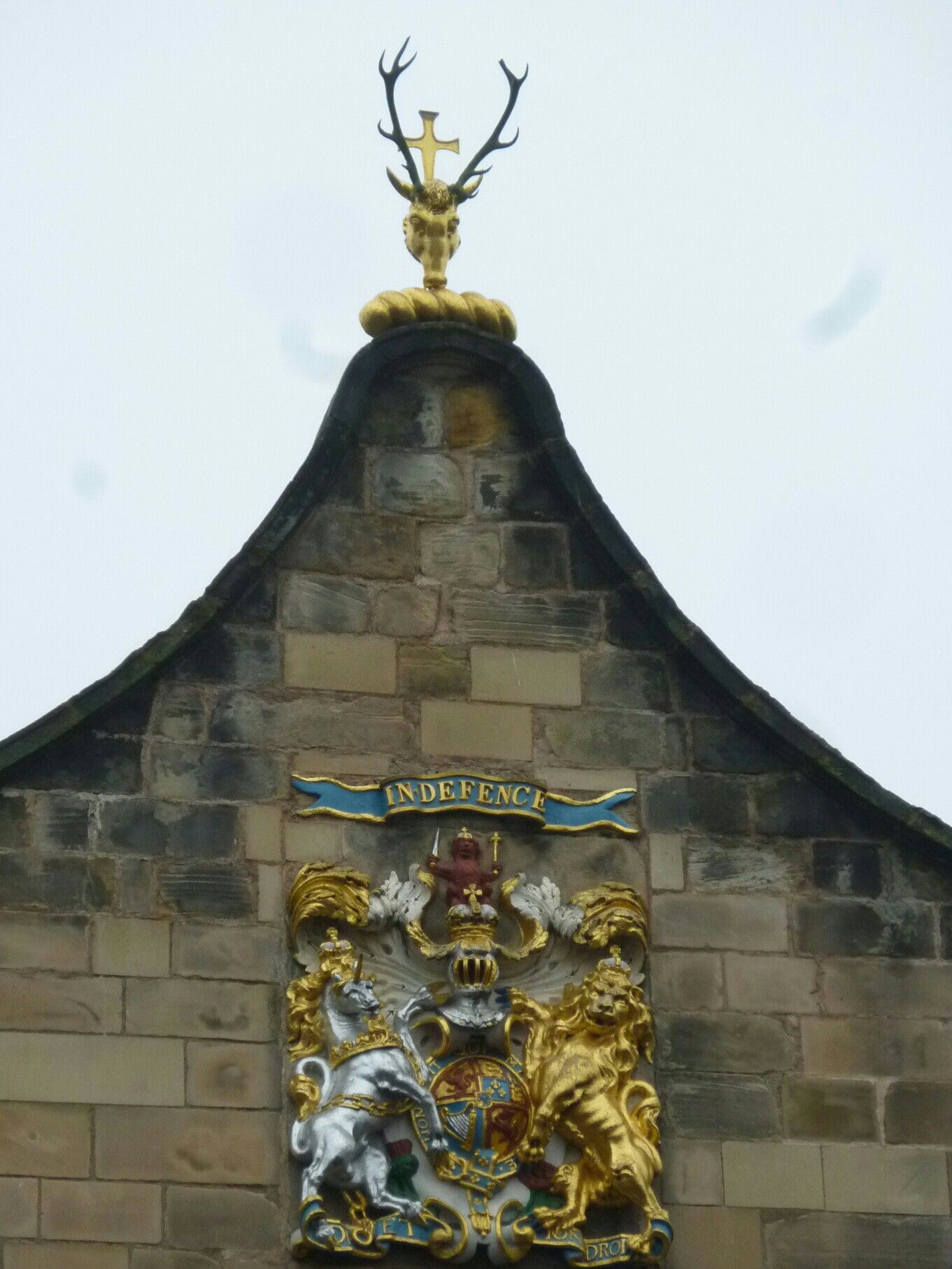 The Stag S Horn The Cross Holyrood S Emblem Scotland Forever Holyrood Holyrood Palace