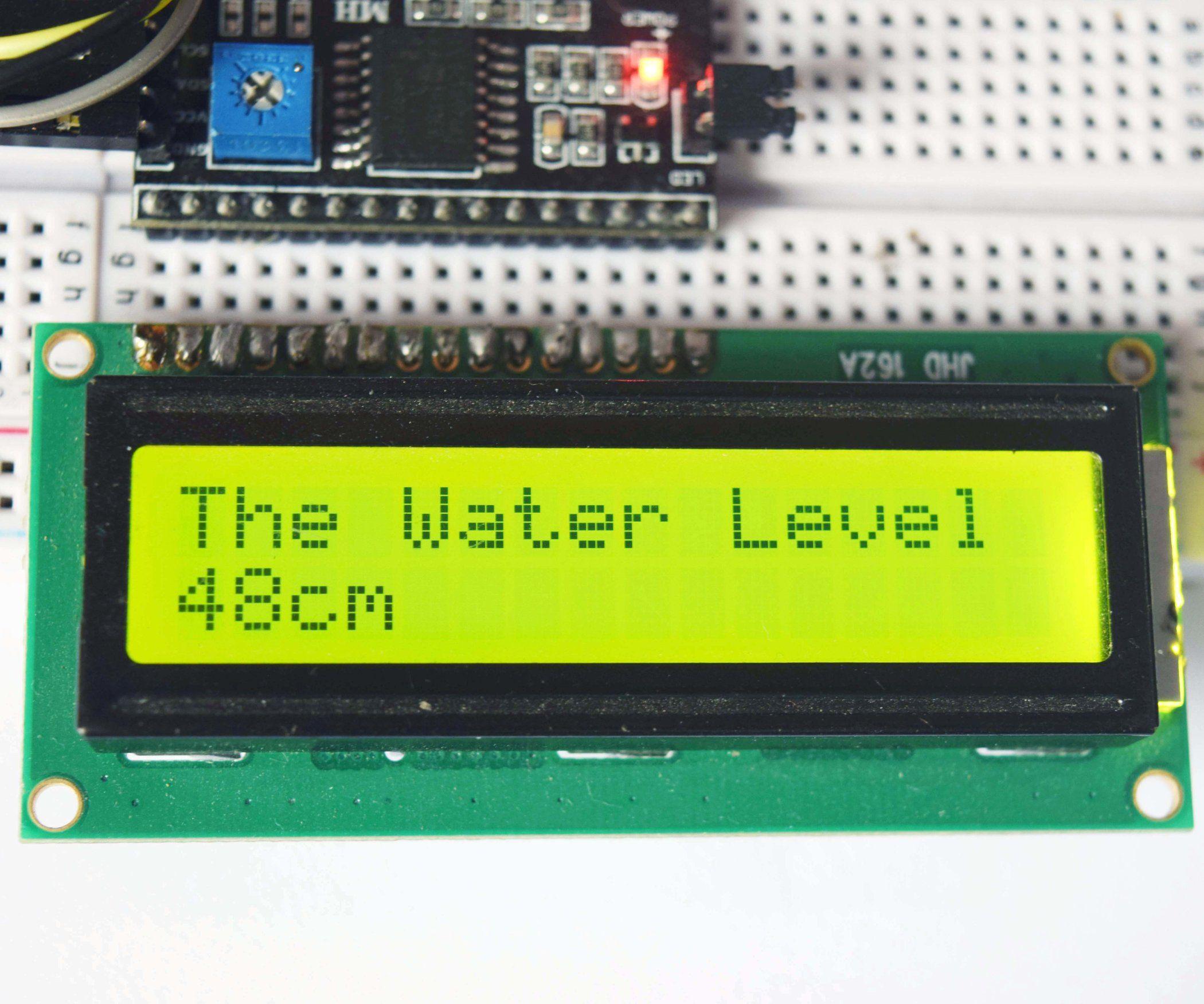 Water Level Indicator Arduino Projects Diy Arduino Arduino Lcd