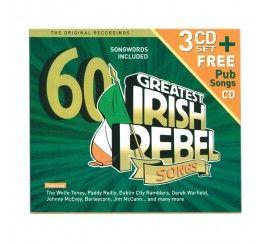 60 Greatest Irish Rebel Songs 3 CD Set