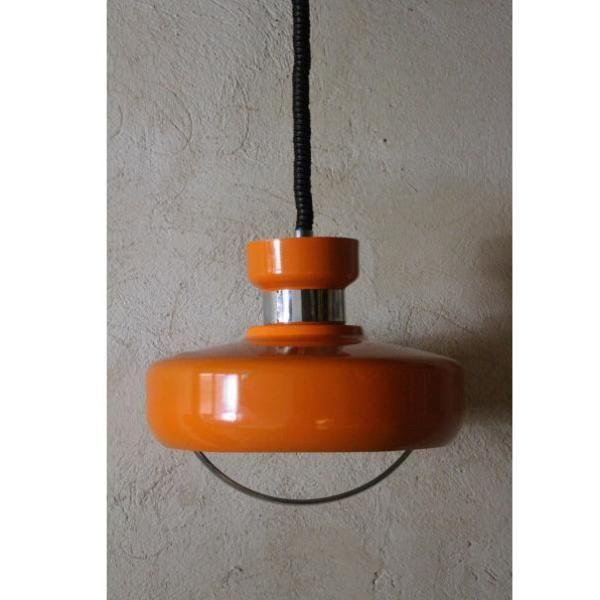 Antigua lámpara de techo vintage extensible de cocina en ...
