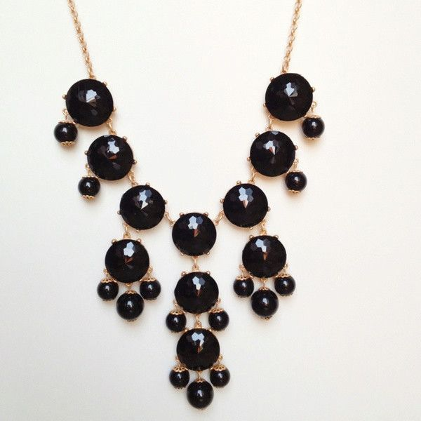 jizzhut.在线_#Black #Bubble #Statement #Necklace | Bubble necklaces, Statement necklace, Necklace