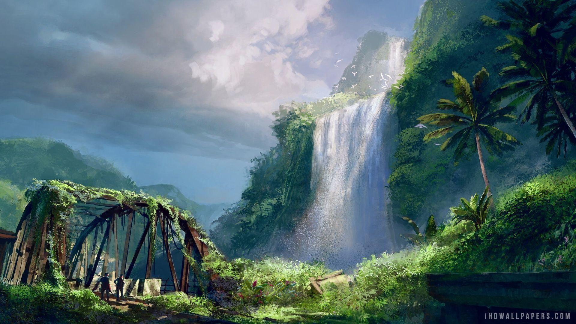 Far Cry 3 Wallpapers Paisaje De Fantasia Pintura Digital Paisajes