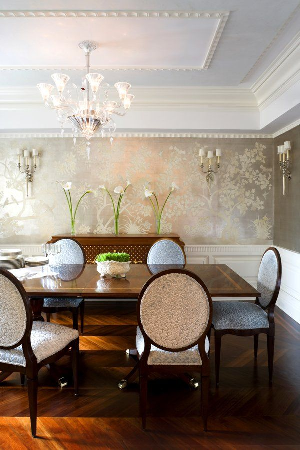 Dining Room Wallpaper This Is Divine Dining Room Ceiling