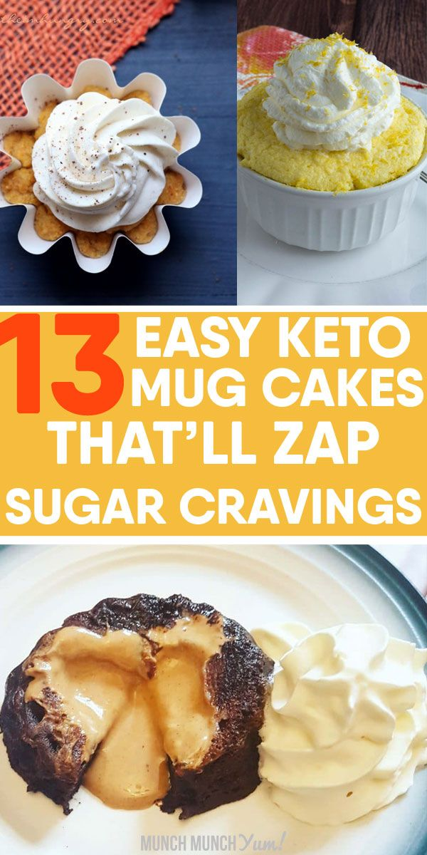 13 SCRUMPTIOUS Keto Mug Cake Recipes (Quick & Easy) | Keto ...