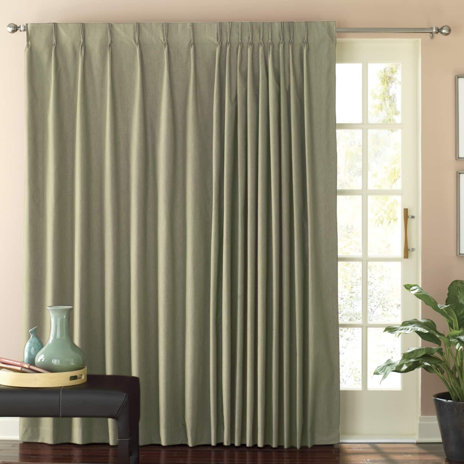 Thermal Pinch Pleat Patio Panel