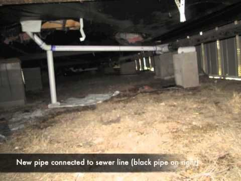 Plumbing Sewer Line Walk Thru Mobile Home Investing Mobile Home Modular Homes For Sale Remodeling Mobile Homes
