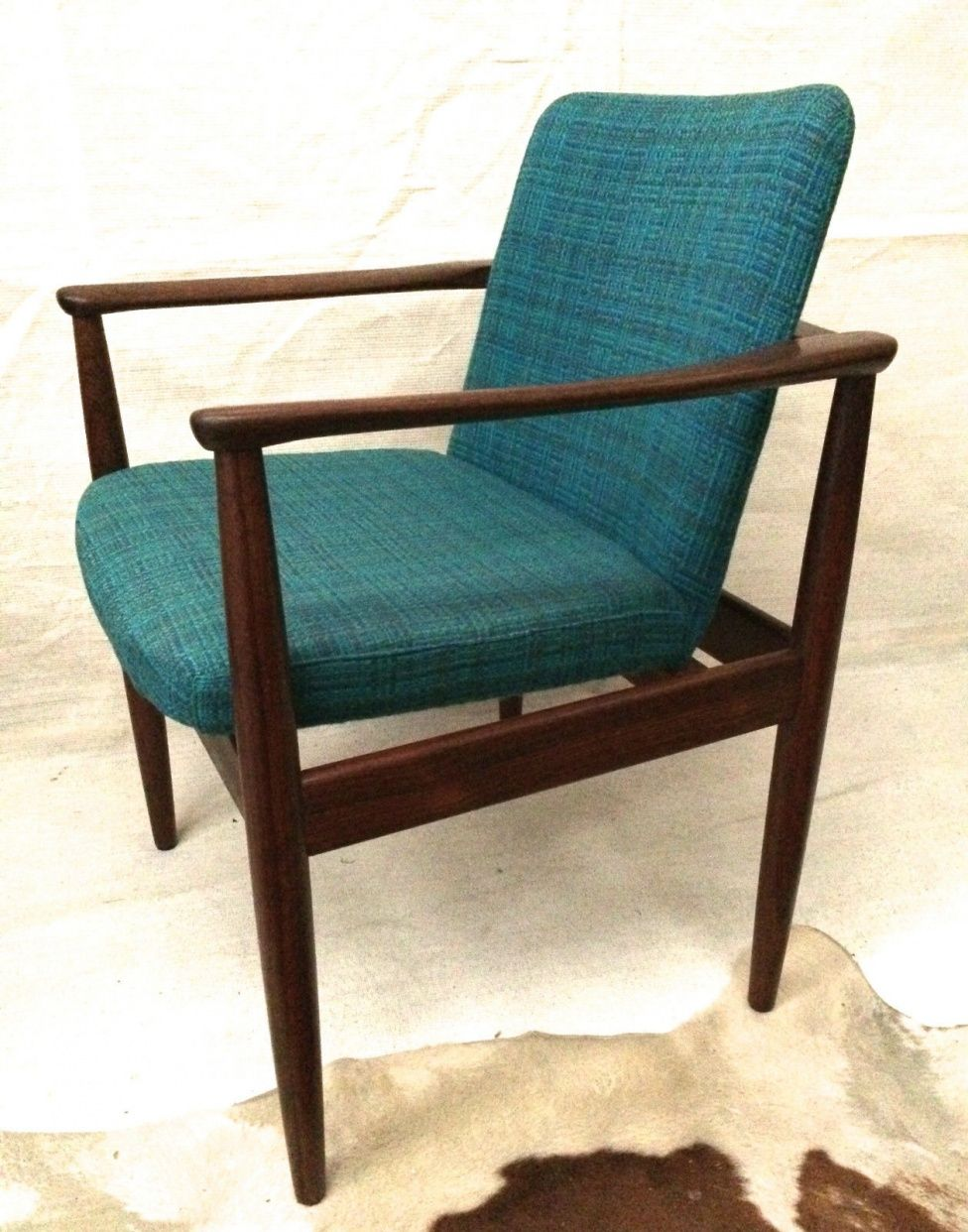 Original Parker Office Occasional Study Chair Solid Teak Retro Scandi Design Retro Chair Retro Furniture Chair