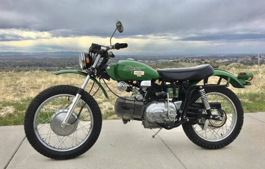 596 Miles – 1971 Harley-Davidson Sprint SX350 | Our Featured
