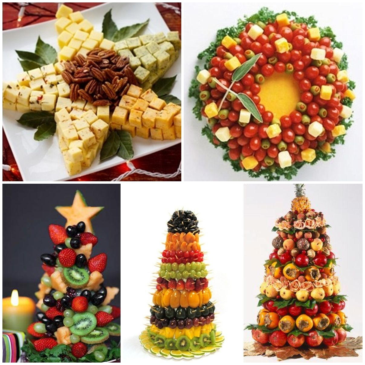frutas e queijos decorados natal natal Ceia de natal ideias, Decoraç u00e3o de frutas e Frutas natal # Decoração Mesa De Frutas Natal Simples