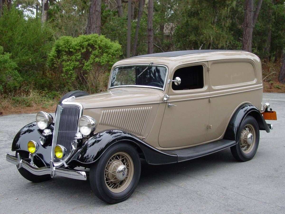 1934 ford deluxe sedan delivery for sale hemmings motor for Hemmings motor cars for sale