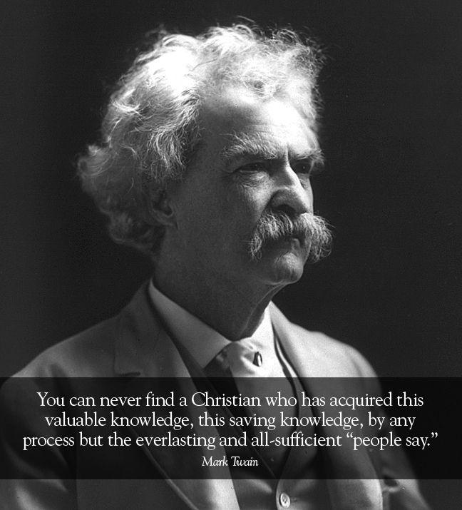 Mark Twain Mark twain, Novels, Angry quote