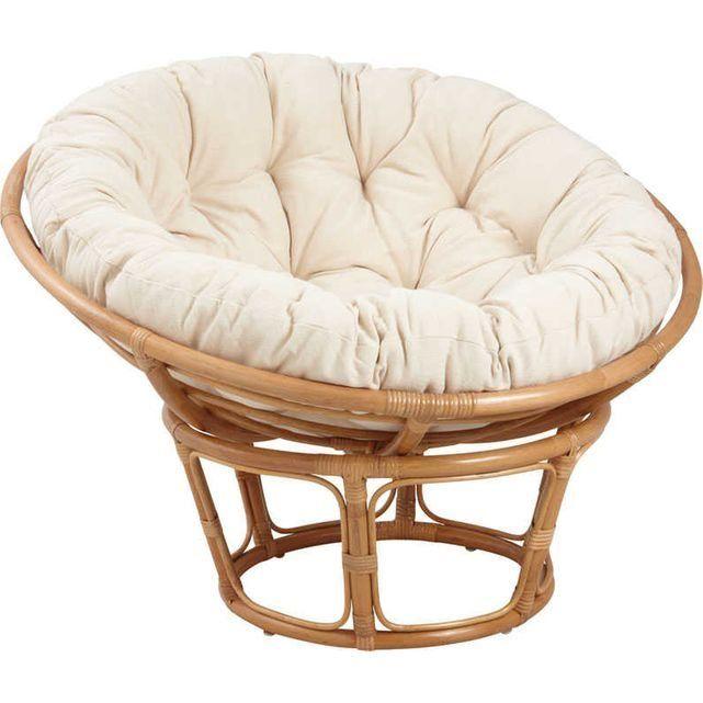 fauteuil papasan en rotin avec coussin cru aubry gaspard furniture fauteuil rotin coussin
