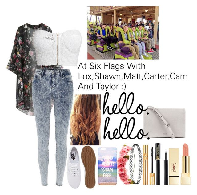 """""""At The Six Flags With Lox,Shawn,Matt,Carter,Cam And Taylor :)"""" by fashionexpert22smilex ❤ liked on Polyvore"""