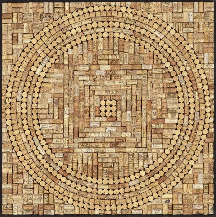 Wine Cork Mandala | Recycle / Cork | Pinterest | Cork, Mandala and Wine